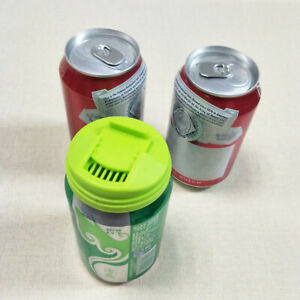 4Pcs Plastic Can Caps Soda Beverage Top Covers for Lid Fits Beer Soda Cup Cans