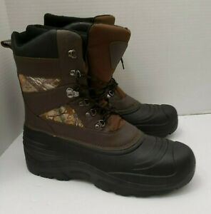 Herman Survivors Mens Boots Brown Camoufloge Thinsulate Ultra 600g Hunting 13