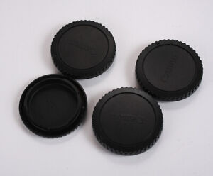 CANON BODY CAPS FOR EOS FILM DIGITAL LOT OF FOUR 190413