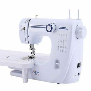 Portable Sewing Machines Household Multifunctional Electric Stitching Equipment $85.78