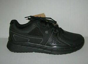 NEW Shoes for Crews Slip Resistant Black Work Shoes FALCON II Womens Size 9 $35.00