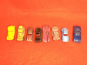 Lot Of Vintage Metal Toy Cars Some Tootsie 8 Cars Porsche Chevy