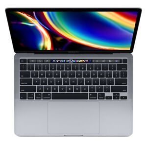 2020 Apple MacBook Pro Touch Bar 13 Gray 1.4GHz i5 8GB 256GB SSD Certified $989.00