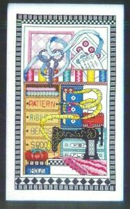 SEWING NOTIONS Old Sewing Machine Pins Bobbie G Counted Cross Stitch Pattern $11.70