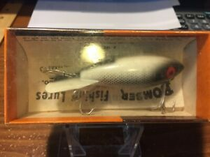 VINTAGE OLD WOODEN BOMBER LURE NO. 538 NEW IN PKG MADE IN USA