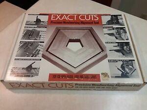 """Exact Cuts Alignment Tool """"A""""Justable Square For Radial Arm amp; Table Saws NEW $24.99"""