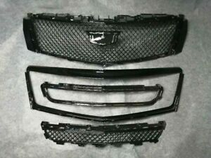 For Cadillac XTS 2013 2017 Radiator Front Upper Lower Grilles With Outer Frame $489.00