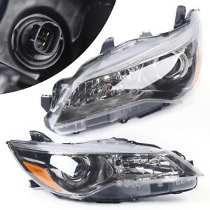 LeftRight Projector Headlights Halogen Head Lamps For 2015 2017 Toyota Camry US $148.00