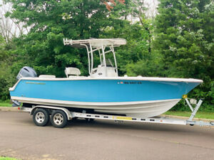 2018 Sportsman Open 232CC Center Console Offshore Inshore Saltwater Fishing Boat