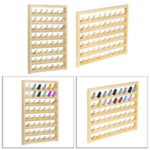 Wall Door Hanging Thread Holder Multi spool Sewing Organizer Embroidery Tool $21.77