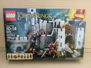 Lego The Lord of the Rings The Battle of Helm#x27;s Deep 9474 New in Box Sealed