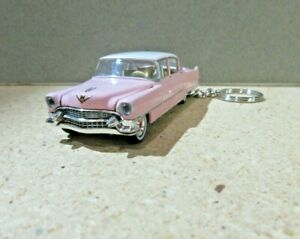 CLASSIC PINK 1955 CADILLAC KEY CHAIN 1 64 SCALE $15.49
