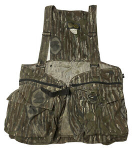 Vintage Men#x27;s HUNTING VEST Official 10X NWTF Clothing National wild Turkey Fed.