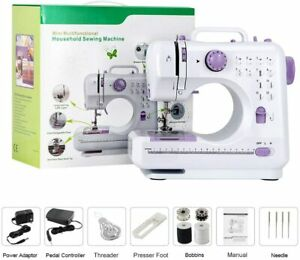 Mending Sewing Machines with Foot Pedal for Home Sewing Mini Electric Household $50.99