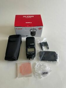 Canon Speedlite 600EX RT used in great condition