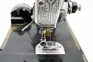 Vintage Singer Featherweight portable sewing machine many extras $499.99