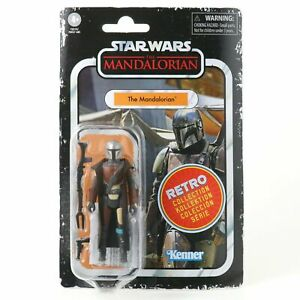 Star Wars Vintage Retro Collection The Mandalorian 3 3 4 Inch Action Figure $13.95