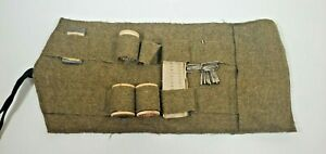 Vintage Sewing Kit Hunting Boy Scouts Military $14.99
