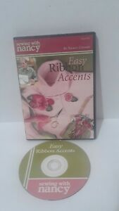 SEWING WITH NANCY EASY RIBBON ACCENTS DVD $8.99