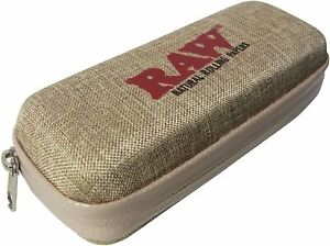 RAW Natural Rolling Papers Cone Wallet Zipper Case Authentic RAWLET