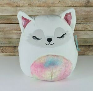 🔥NEW🔥 16 inch Squishmallow Gracelynn Winter Fox New With Tag Super 16 $36.95