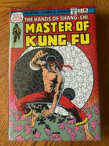 Shang Chi : Master of Kung Fu Omnibus Volume 3 DM Variant Cover OOP Brand New $99.99