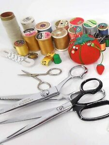 Lot of Vintage Sewing Supplies $35.00