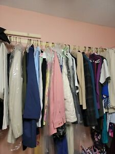 Mens womens Clothing Lot Of 50 Items $75.00