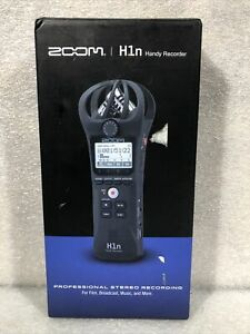 Zoom H1n Handy Portable Recorder New In Box