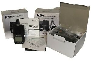 Zoom H2next Handy Digital Stereo Recorder amp; Accessory Pack With Remote Bundle