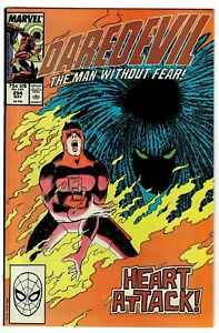 Daredevil #254 VF Condition #x27;1st appearance Typhoid Mary#x27; Marvel May 1988