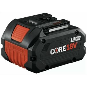 BOSCH 8.0ah Battery GBA18V80. Best on the Market. **Brand New Free Shipping $87.50
