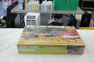 Vintage Army Action Squadron Task Force Play Set $38.99