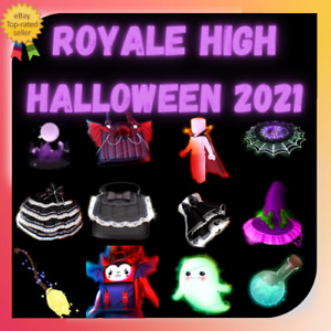 Royale High Halloween 2021 New Items RESTOCKED Fast Delivery l Cheap Price. $19.99
