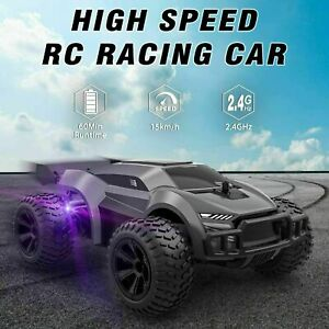 Growsland Remote Control Car 2.4GHz High Speed RC Cars Offroad Hobby RC Racing $22.99