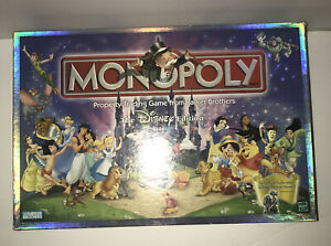 NEW 2001 Unsealed Monopoly Disney Edition $53.99