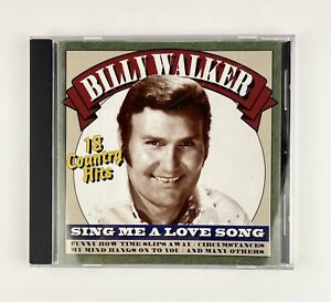 Billy Walker Sing Me A Love Song 18 Country Hits new Open Box $10.00