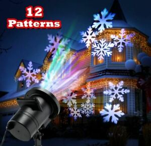 Holiday Outdoor Indoor Projector Light Lamp 12 Theme Xmas Thanksgiving Halloween $22.48