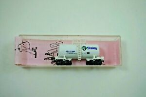 NOS Roundhouse AESX STALEY 10863 N Scale 30#x27; Modern Tank Car 8464