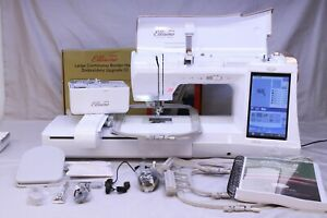 MINT BABYLOCK ELLISIMO GOLD SEWING QUILTING amp; EMBROIDERY MACHINE W 3 UPGRADES $2872.00