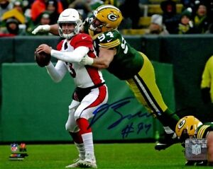 Packers Lineman DEAN LOWRY Signed 8X10 Photo #3 AUTO 2016 4th Round Pick $14.99
