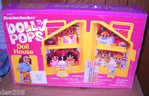 2062 nrfb vintage knickerbocker dolly pops