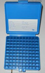 DILLON PLASTIC AMMO BOXES (9) 100rd .38 Spc .357 Mag ++ WLABELS FOR RELOADING