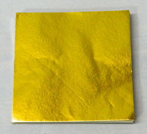 Gold Candy Foil Wrappers Confectionery Foil 125 count