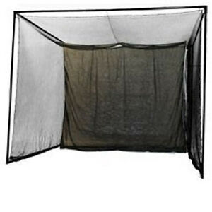 NEW 10 x 10 Enclosed Indoor Golf Simulator Hitting Net for Game Room.Practice $339.00