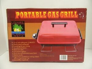 PortableTabletop Gas Grill -- Propane, Tailgate, Home or Camping