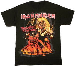 IRON MAIDEN Number Of The Beast Eddie Metal T Shirt New Official S M L XL XXL $19.95