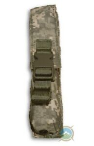 NEW! Molle ** Pop Flare Pouch UP Single ** ACU Camo ** Genuine US Military
