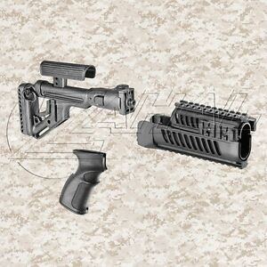 FAB Defense Tactical VZ Accessory Kit - Folding Stock Grip & Handguards