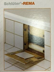 Schluter Rema ~ Magnetic tile access panel clips